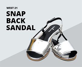 Snap-Back-Sandal