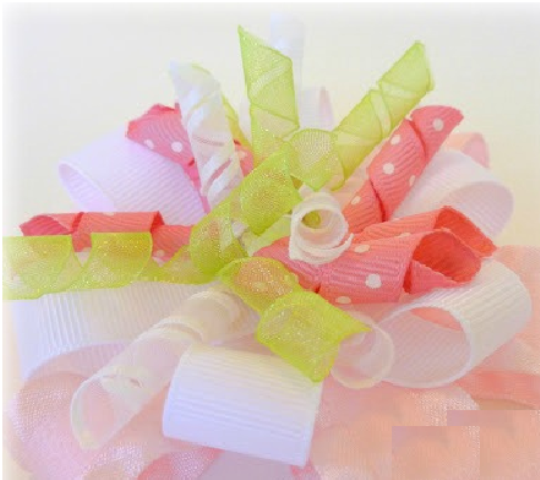 Creating A Korker Flower Hair Bow For Your Little Angel