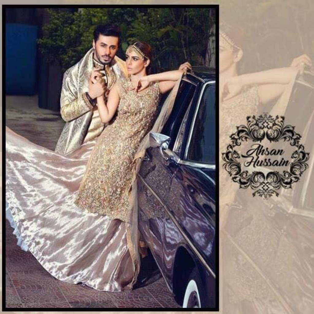 Ahsan Hussains Luxury Collection- A Perfect Choice for Wedding Wears!