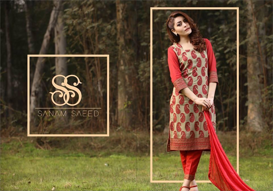 Sanam Saeed Clothing