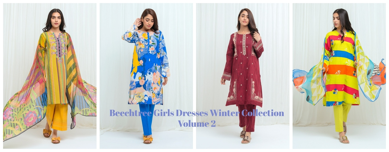Beechtree Girls Dresses Winter Collection Volume 2