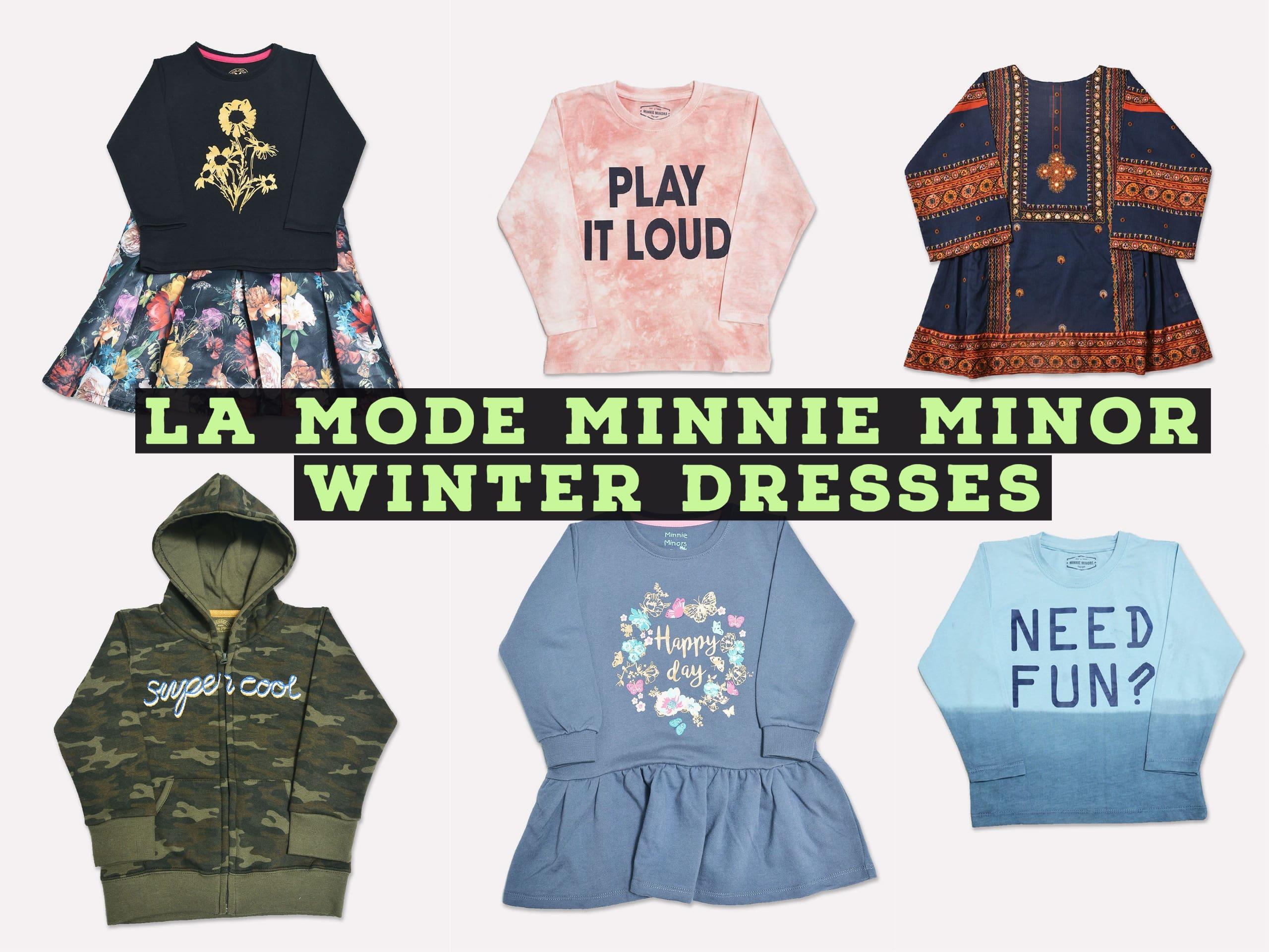 A La Mode Minnie Minor Winter Dresses For Boys