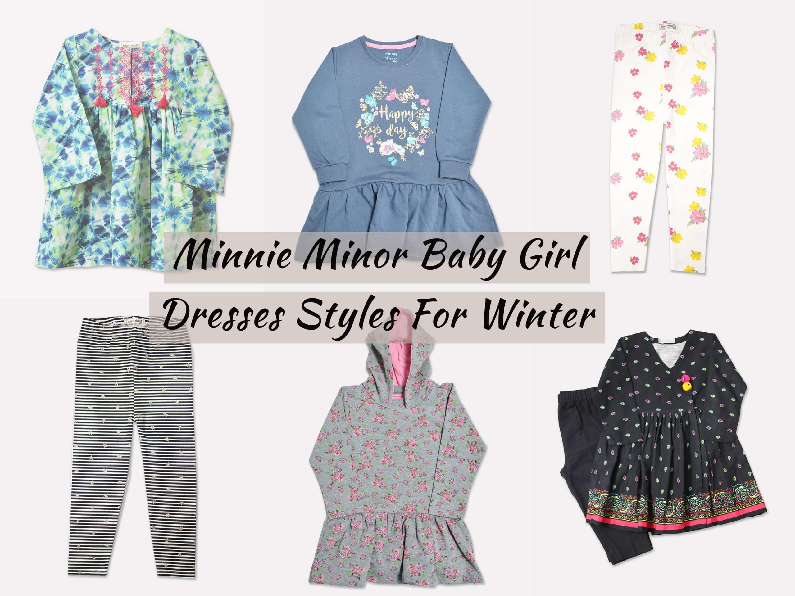 Minnie Minor Baby Girl Dresses Styles For Winter