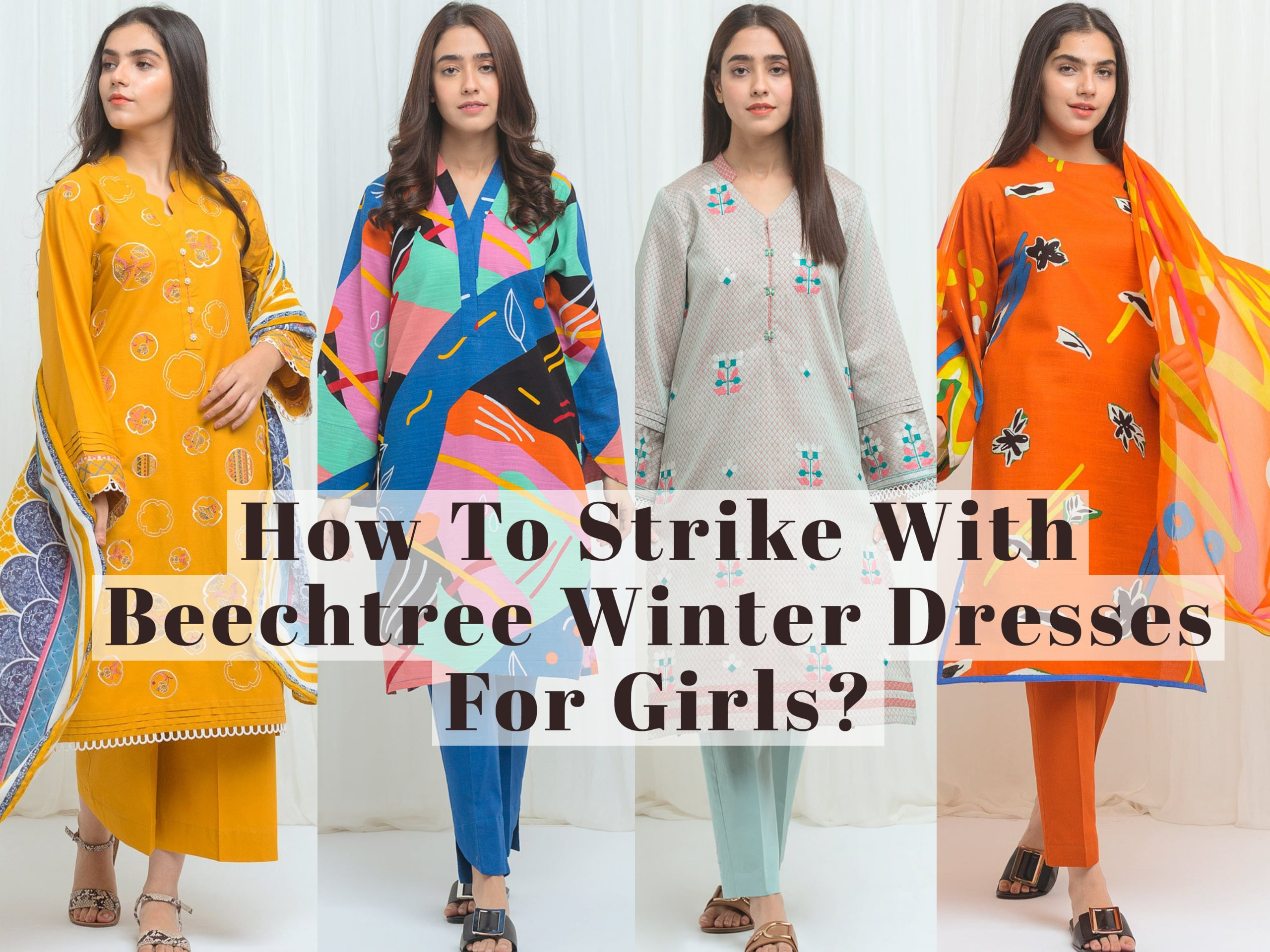 How To Strike With Beechtree Winter Dresses For Girls
