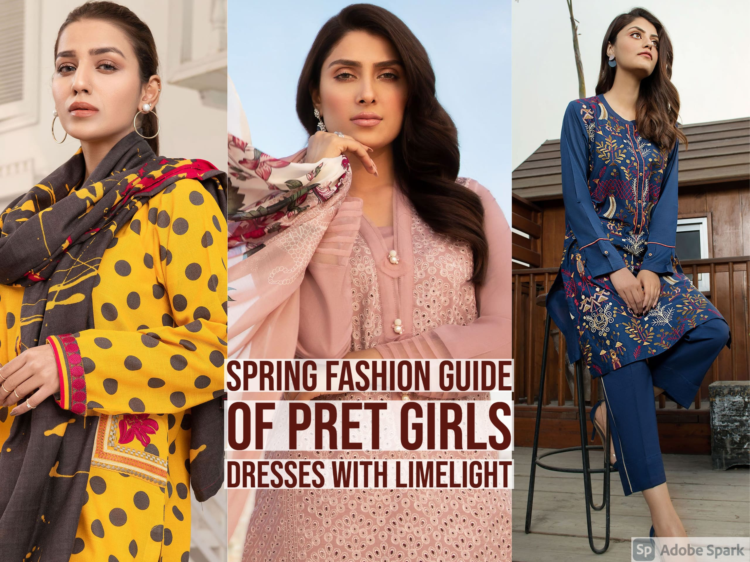 Spring Fashion Guide Of Pret Girls Dresses With Limelight