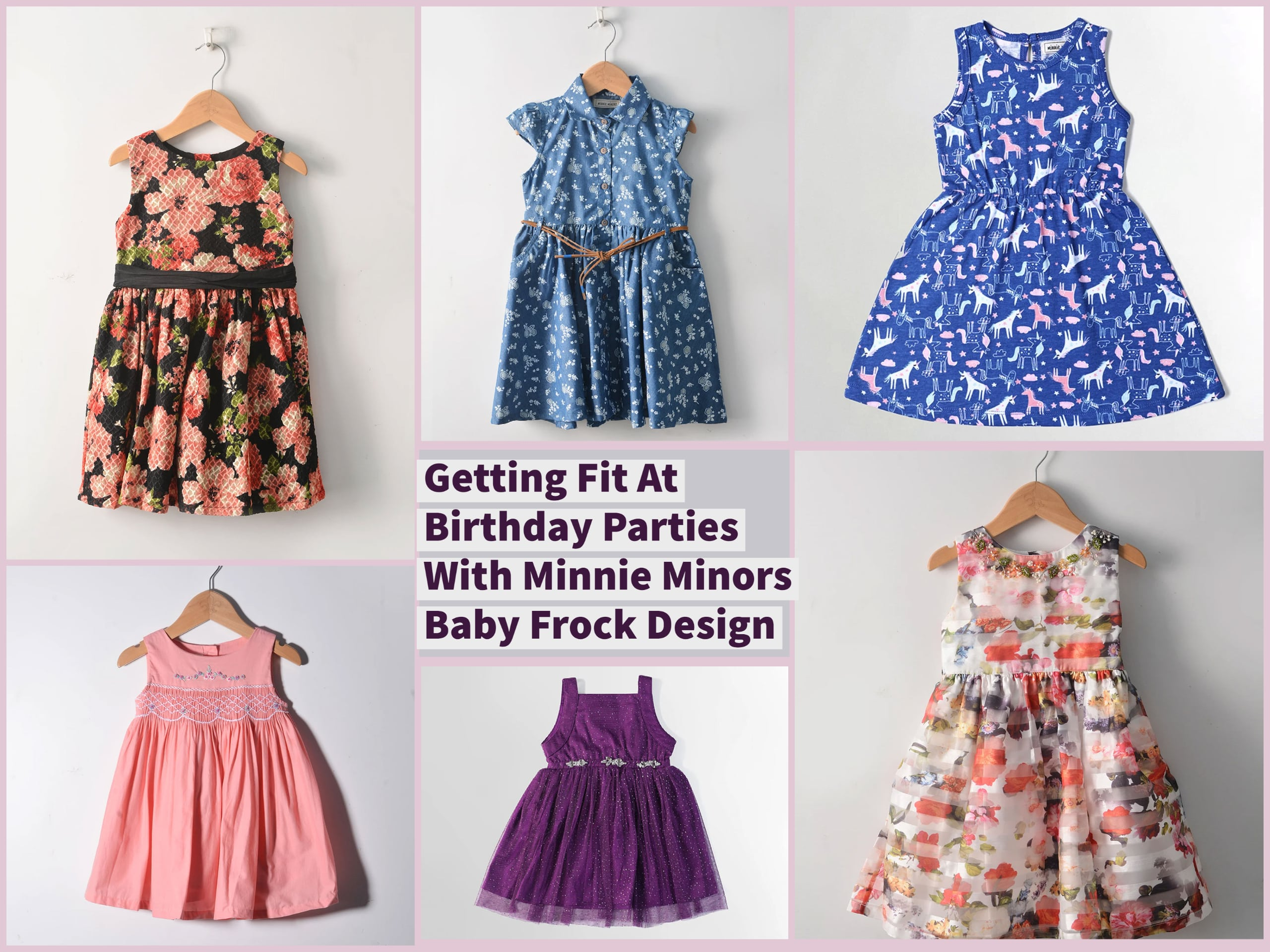 Getting Fit At Birthday Parties With Minnie Minors Baby Frock Design