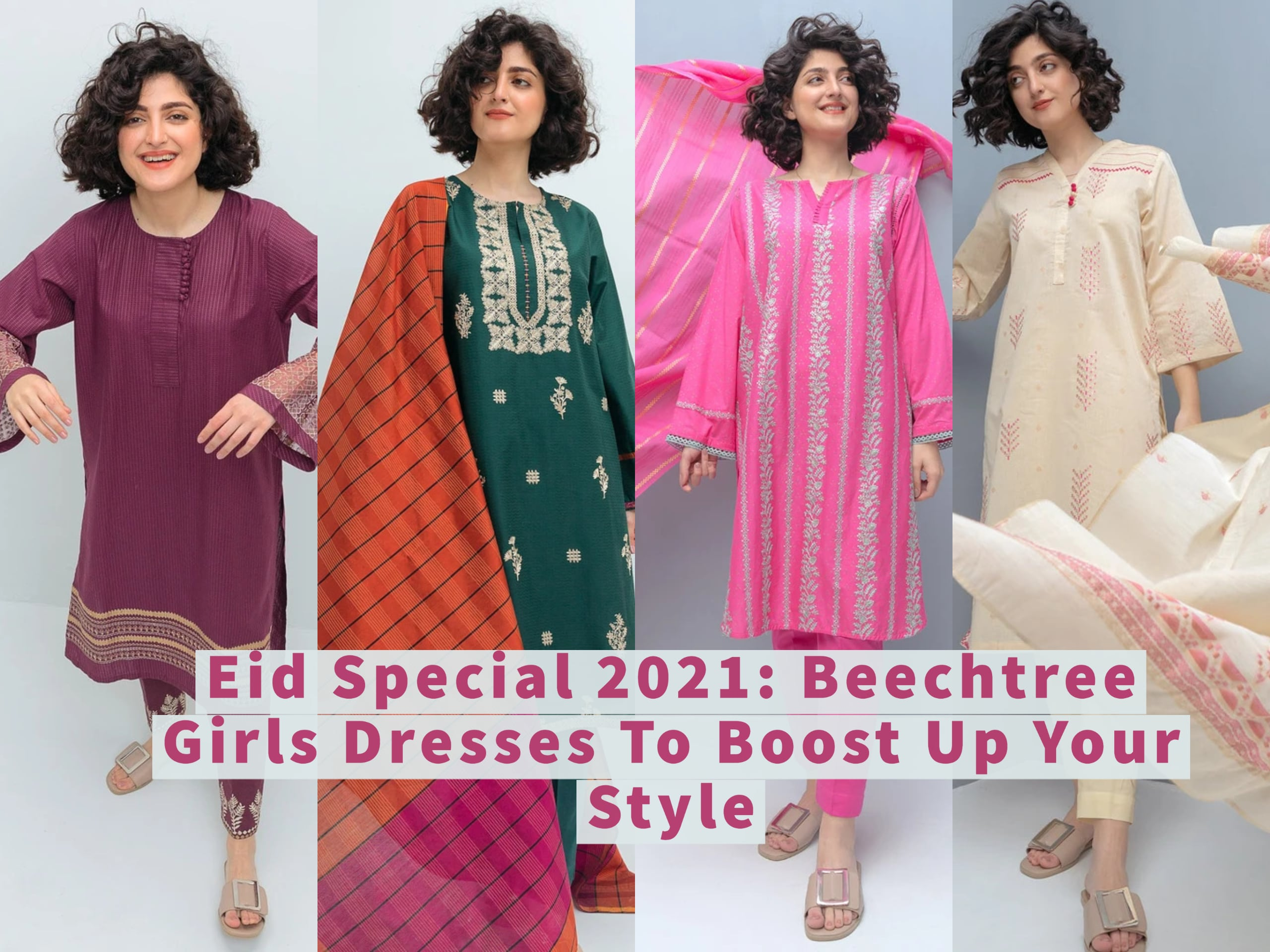 Eid Special 2021: Beechtree Girls Dresses To Boost Up Your Style