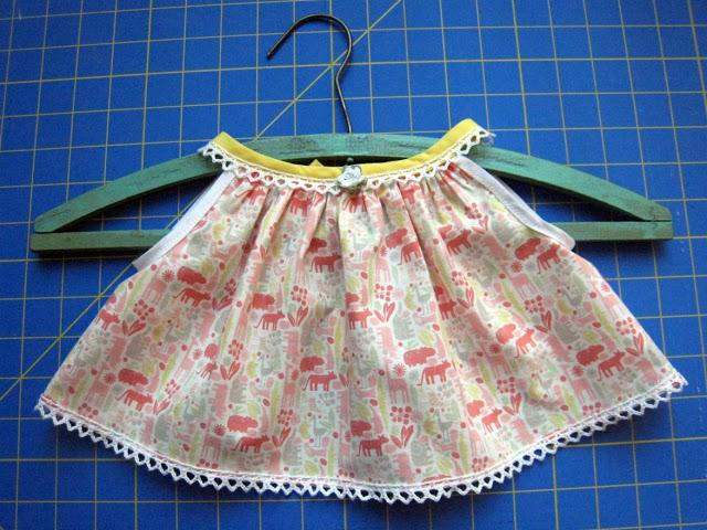 7dcf0e56107 Creating A New Born Baby Dress With The Least Hassle