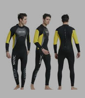wet suits (for swimming, diving or surfing)