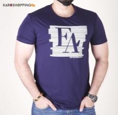 Half Sleeves Men Tee-Black T-Shirt EA