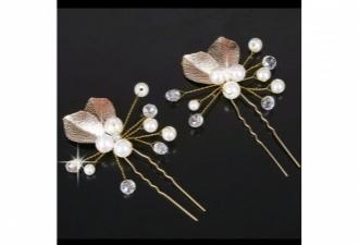 15015061670_Affordable_Pearl_Gold_Leaf_Headpiece_Hair_Stick_.jpg