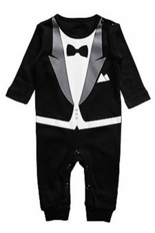 d898b9cec Baby Boy Romper Bodysuit Jumps... Others Shop. Size:18-24 Month. Rs 2790.  0. 15066711230_Affordable_Boy_Romper_Rompers_Tuxedo_All-in-one_Suit.jpg