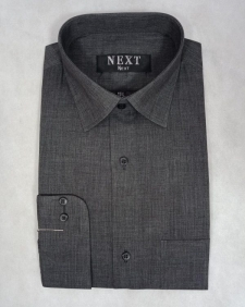 15523851890_Dark_Grey_Chambray_Formal_Shirt_Men_Double_Needle_Stitching.jpg
