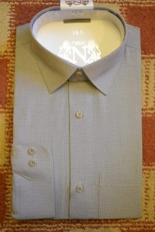 15523883650_Light_Grey_Self_White_Squares_Pattern_Formal_Shirt_for_Men.jpg
