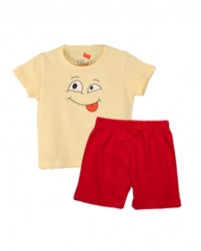 15933289340_AllureP_T-shirt_Lime_Smiley_H-S_Red_Shorts.jpg