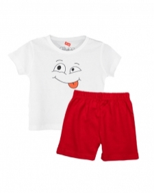 15933316040_AllureP_T-shirt_White_Smiley_H-S_Red_Shorts.jpg