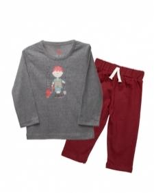 15982010180_AllureP_T-shirt_Grey_Fishing_Maroon_Trousers.jpg