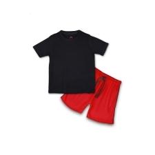 16233247890_AllureP_Black_Plain_Red_Shorts.jpg