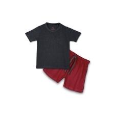 16233248330_AllureP_Charcoal_Plain_Maroon_Shorts.jpg