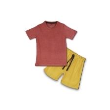 16233252180_AllureP_Rust_Plain_Yellow_Shorts.jpg