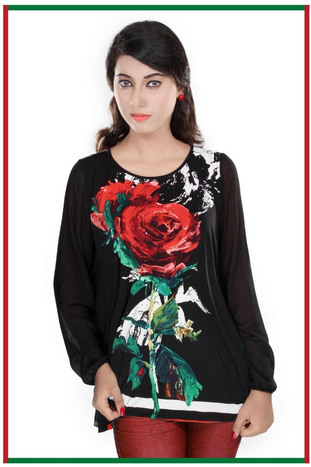 14783573380_black_front_printed_flower_georgette_&_knits_top_Pkr_9,999.jpg