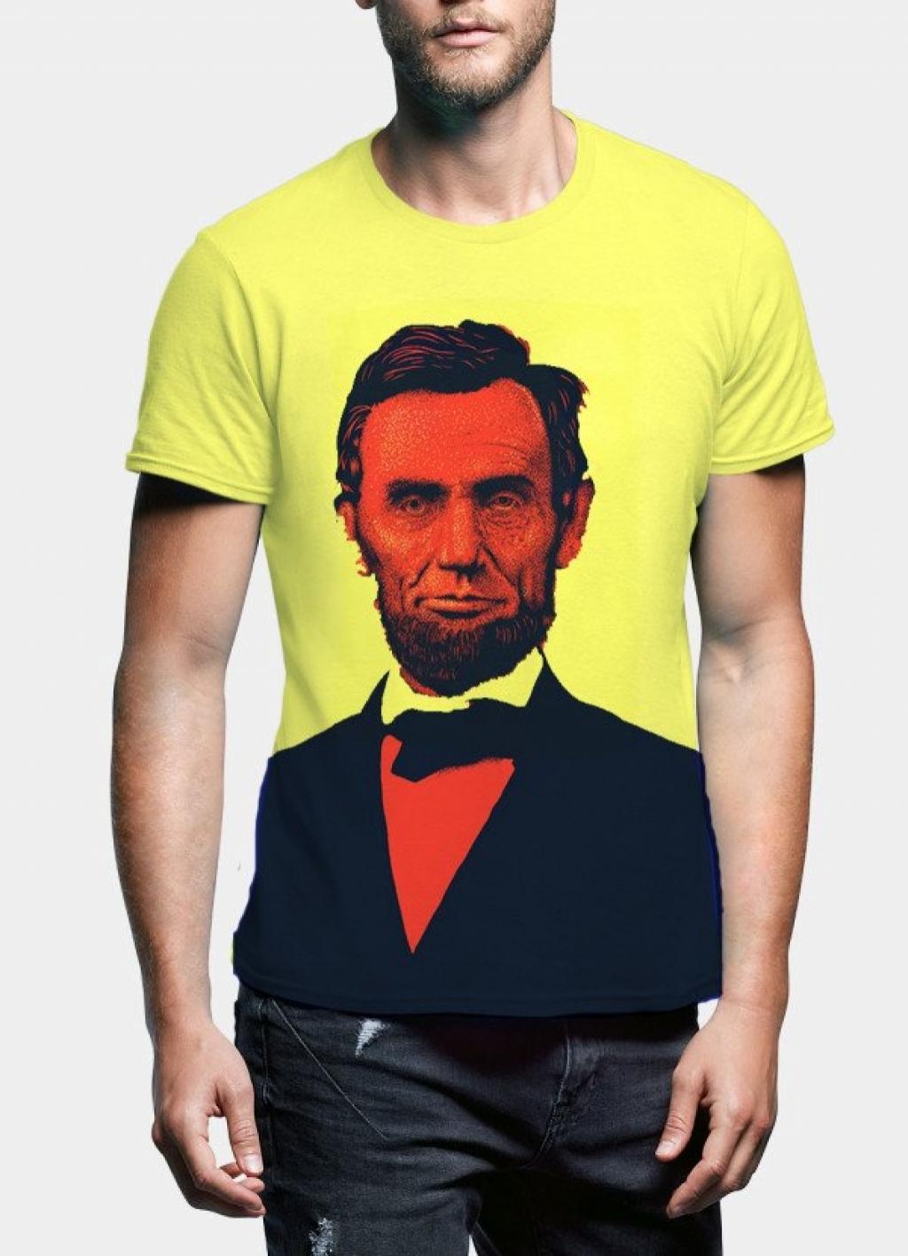 14964093360_Abraham_Lincoln_Portrait_T-Shirt-yellow.jpg