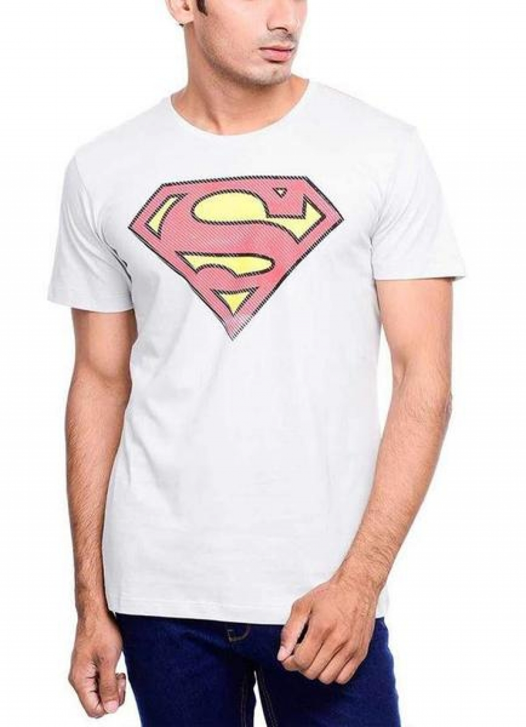 14993351170_Affordable_Superman_Power_Up_Grey_Half_Sleeve_Men_T-Shirt.jpg