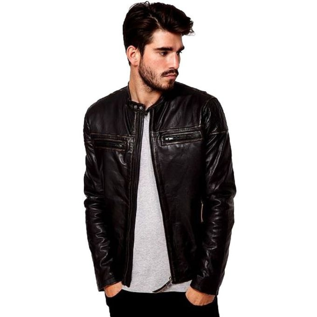 Are leather jackets in fashion for men 40