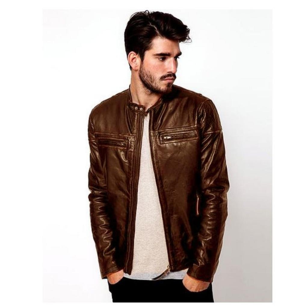 Buy Dark Brown Leather Jacket In Pakistan Affordable Pk