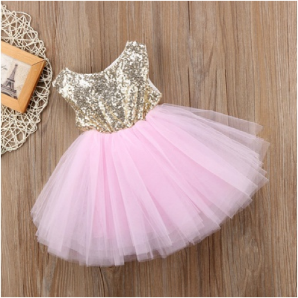 Buy Flower Girls Dress Princess Wedding Party Kids In Pakistan