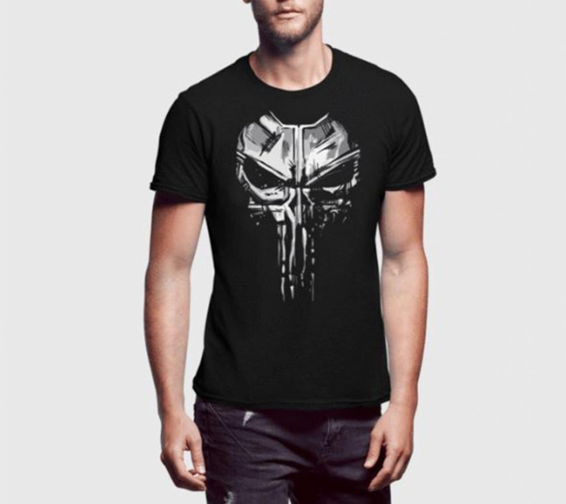 77c1f83fe36dd Punisher Black T-Shirt