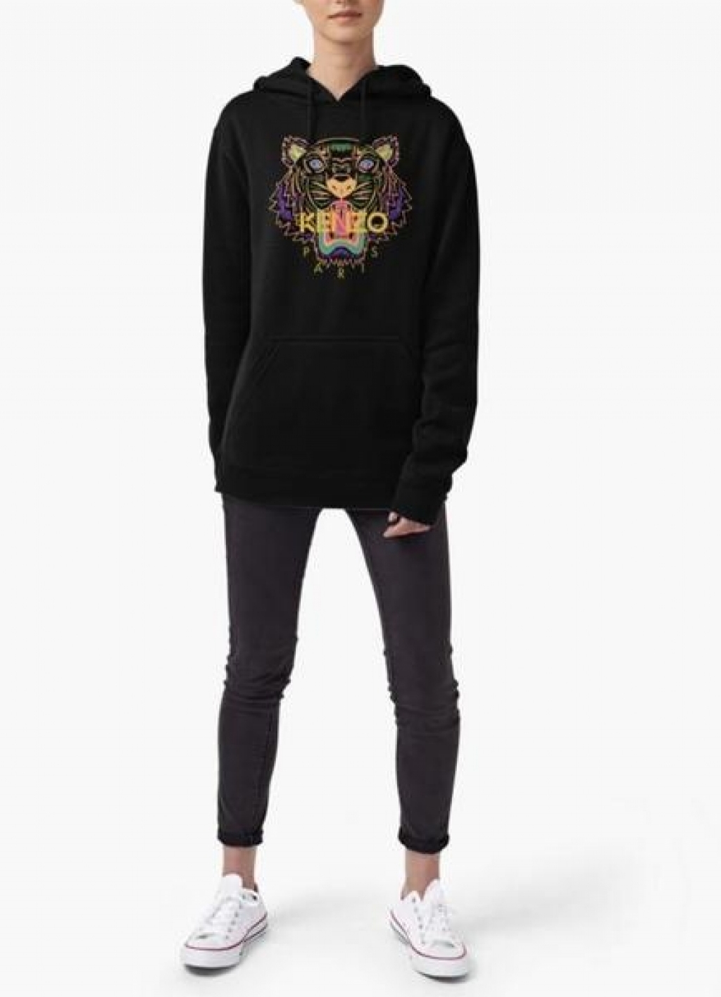245a1bc2 Buy Kenzo Paris Tiger WOMEN HOODIE BLACK in Pakistan | Affordable.pk