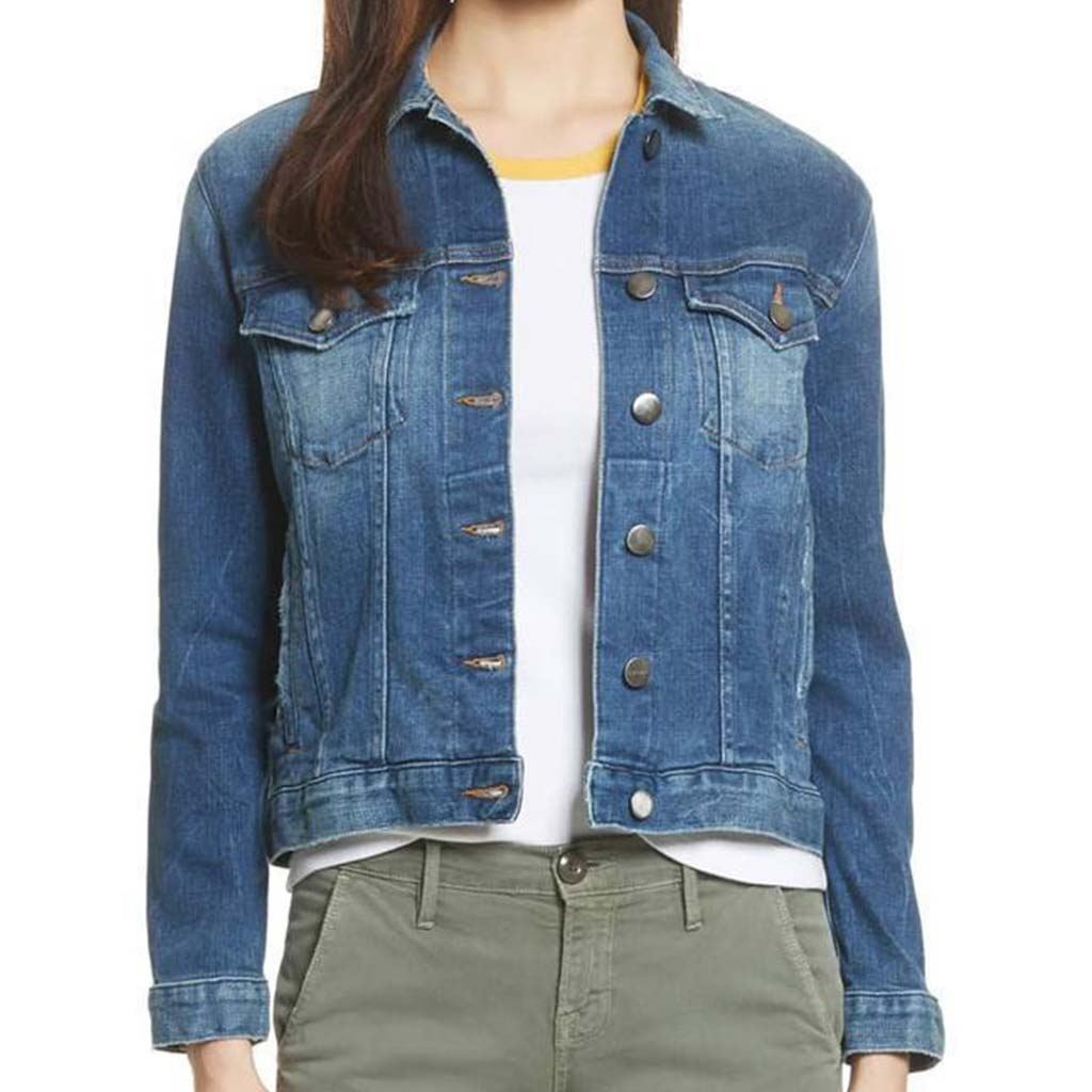 big discount buy real forefront of the times WOMEN'S CLASSIC DENIM JACKET