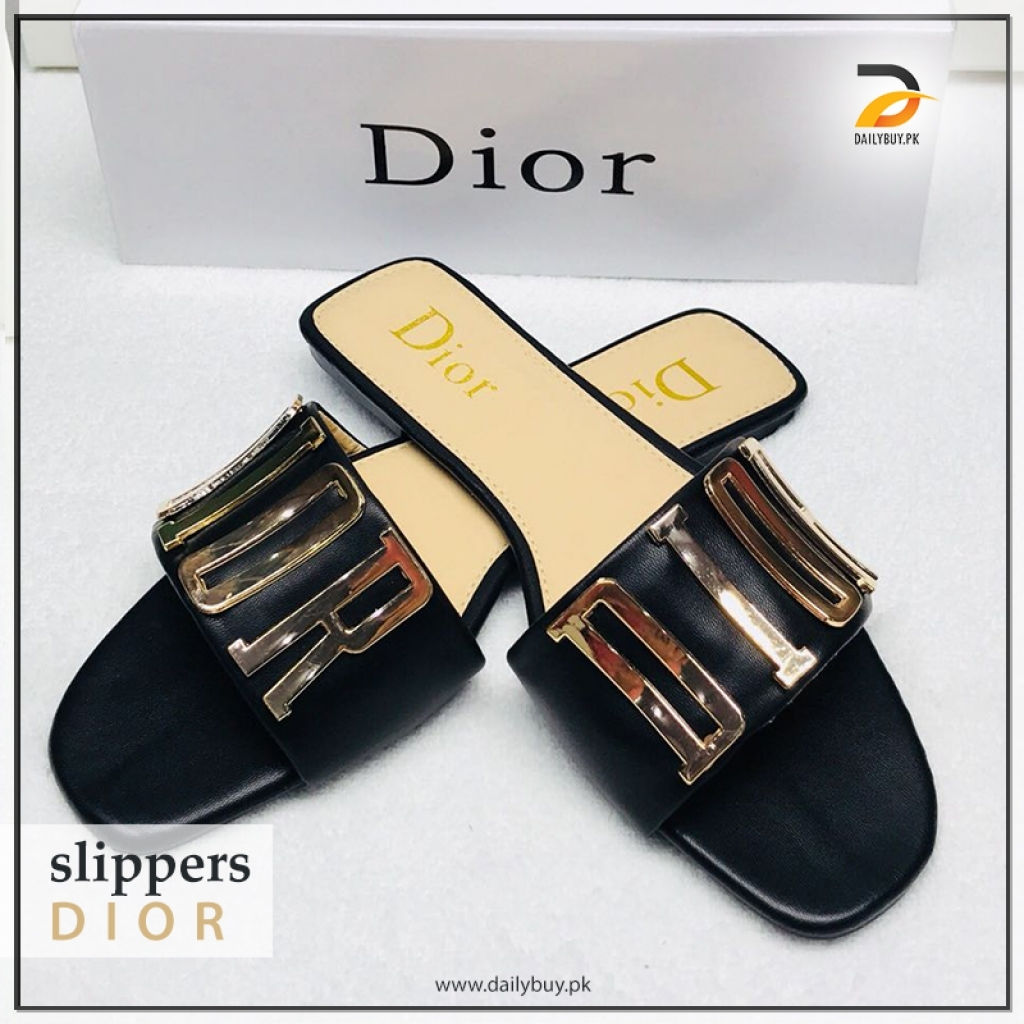 convenience goods size 7 check out Dior slippers 05 for women
