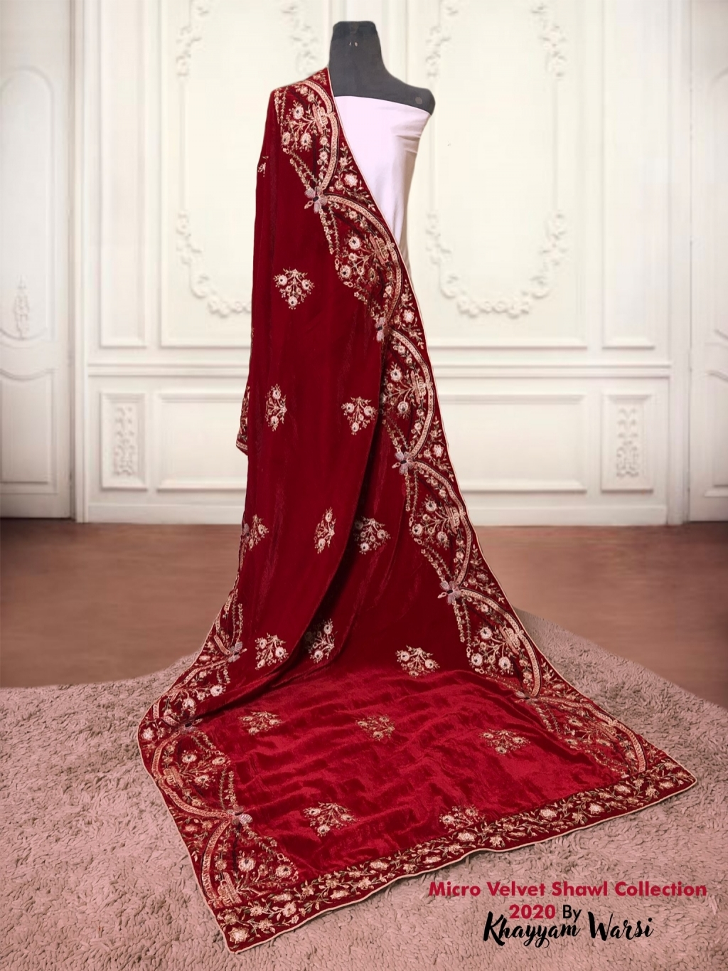 Buy Velvet Shawl Embroidered Collection In Pakistan Online Shopping In Pakistan