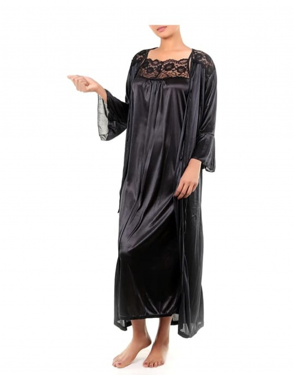 Buy LOSHA 3 PIECE NIGHTY SET in Pakistan | online shopping