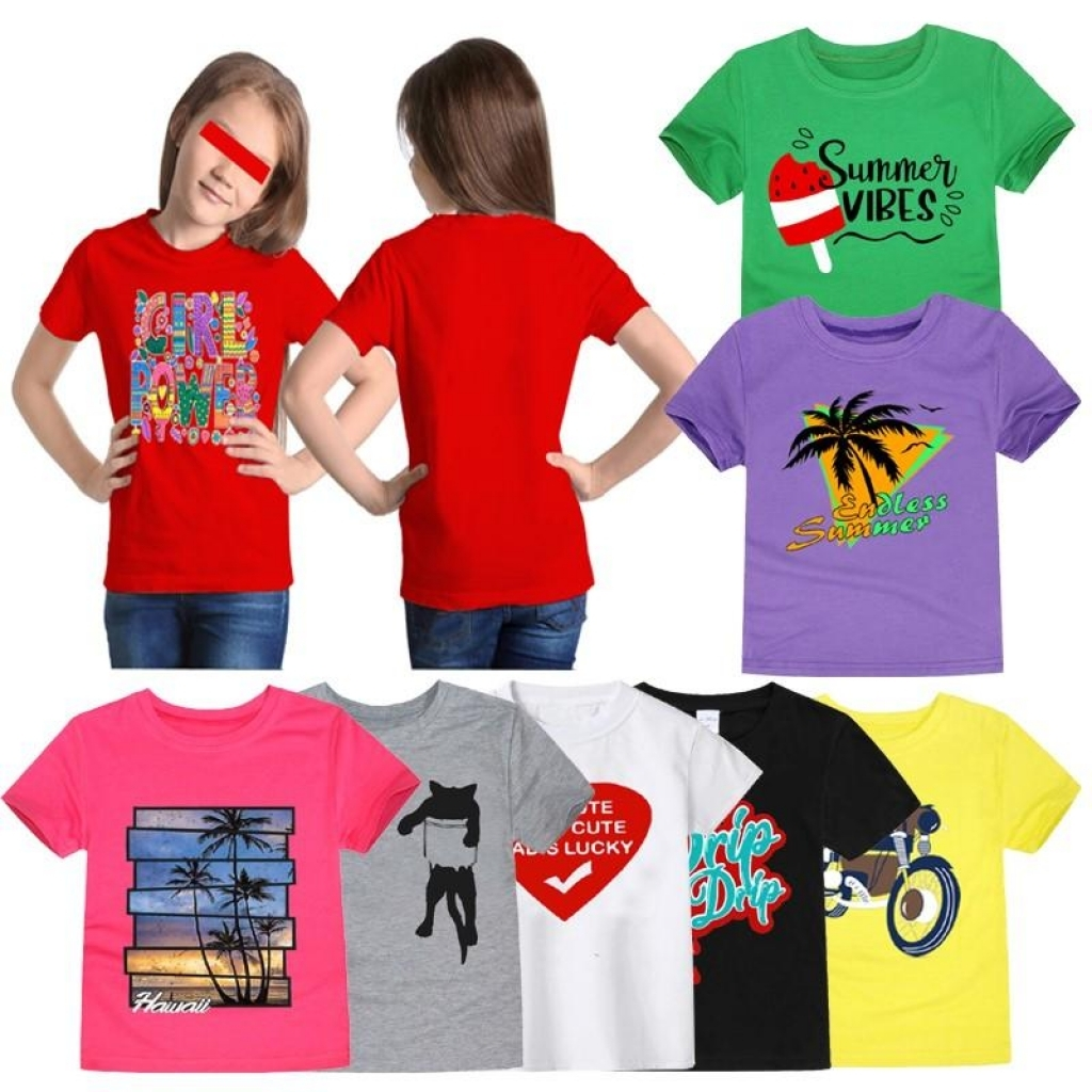 Buy Pack Of 3 Random Printed Tshirts For Girls in Pakistan   online  shopping in Pakistan